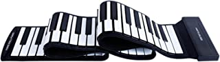 Portonss Portable Electronic Hand Roll Piano Flexible Roll up Keyboard Silicone Piano