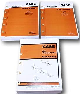 Case 350 Crawler Dozer Service And Parts Catalog Manuals Engine Repair Shop