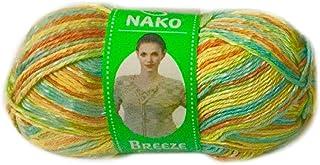 Nako Breeze Multi Colour No.85908 Crochet and Knitting Yarn