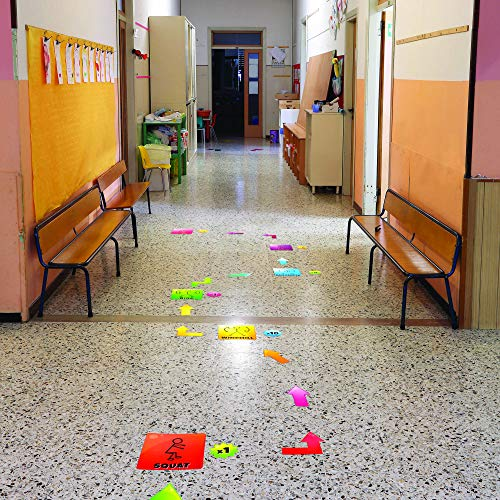 EZ Stick Sensory Path for Hallways – 98 Decals for Floors, Get Moving Photo #9