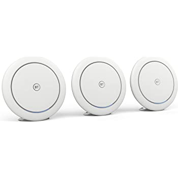 AC2600 connection for use with existing BT Whole Home Wi-Fi speedy Refurbished BT Whole Home Wi-Fi 1 Additional Disc App for complete control and 3-year warranty Mesh Wi-Fi for seamless