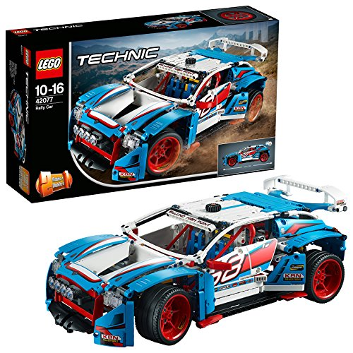LEGO Technic- Auto da Rally, Multicolore, 42077