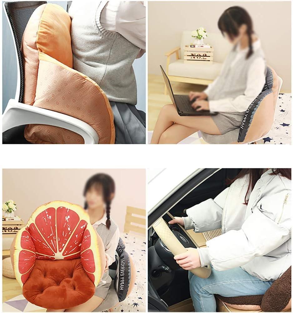 Zitkussen + door kussen, Office Student Dikke Suede stoelpad, Home Floor Seat Pad, verlichten pijn en comfort D6/10 (kleur: kleur zes) Jzx-n (kleur: kleur zeven) Kleur twee