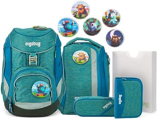 Ergobag Pack – Schulrucksack Set 6tlg. - Motive (Monstb reunde)