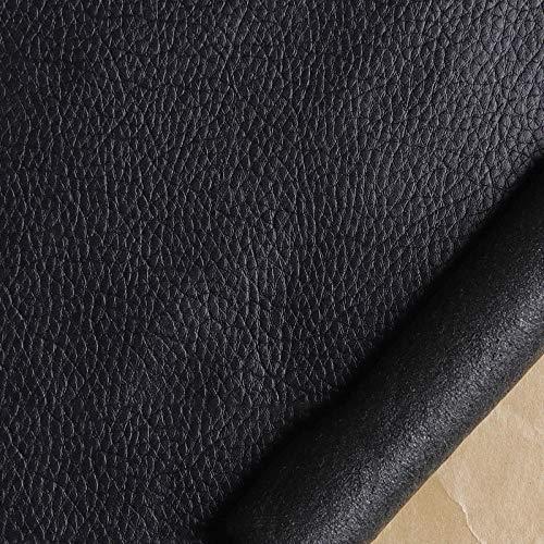 Leder Patch Kit Selbstklebende Lederflicken schwarz20cmX138cm Aufkleber Patch Repair Lederreparatur Set Leder, Vinyl & Kunstleder Reparieren Kit Für Autositze