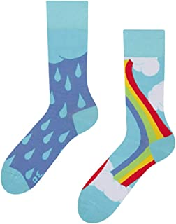 Dedoles, Rainbow Good Mood - Calcetines para adultos (tallas 39-42/US7-9)