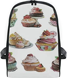 Cupcake School Backpack For Boys Kids Preschool School Bag Toddler Bookbag