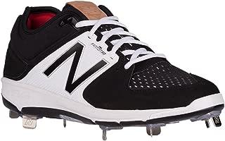 New Balance Low-Cut 3000v3 Mens Cushioning Metal Baseball Cleat Black/White