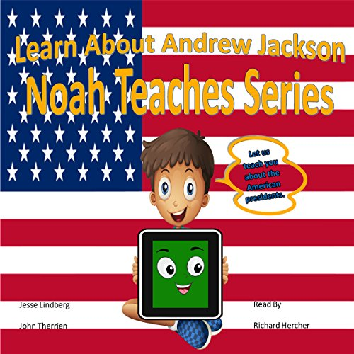 Learn About Andrew Jackson audiobook cover art