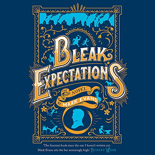 Bleak Expectations audiobook cover art
