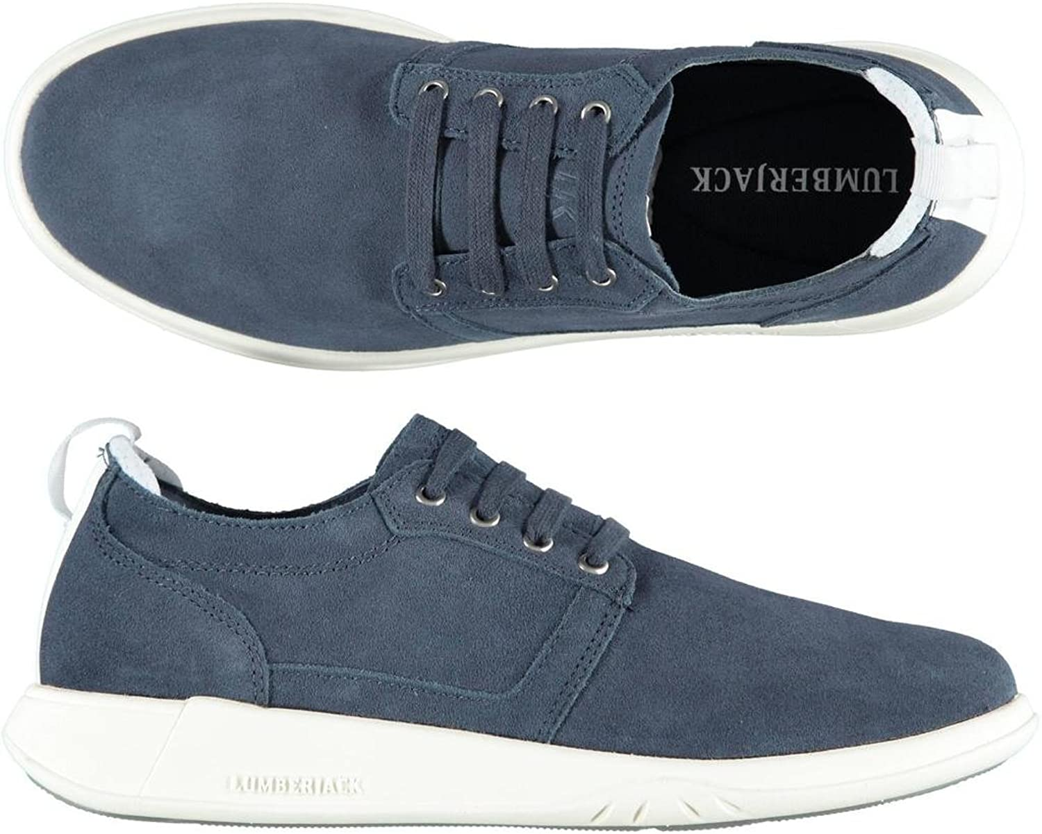 LUMBERJACK man low sneakers SM29705-001 HOUSTON blueE