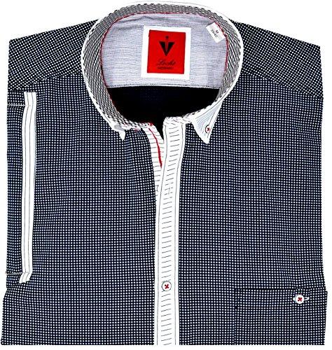 Leché Herrenhemd mit Brusttasche (S)