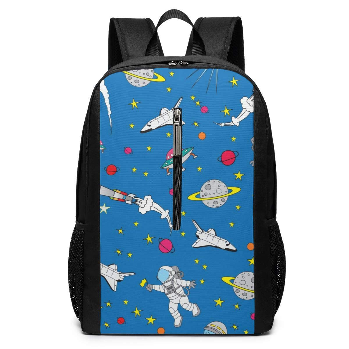 Backpacks Astronaut Shoulder Notebook Multipurpose