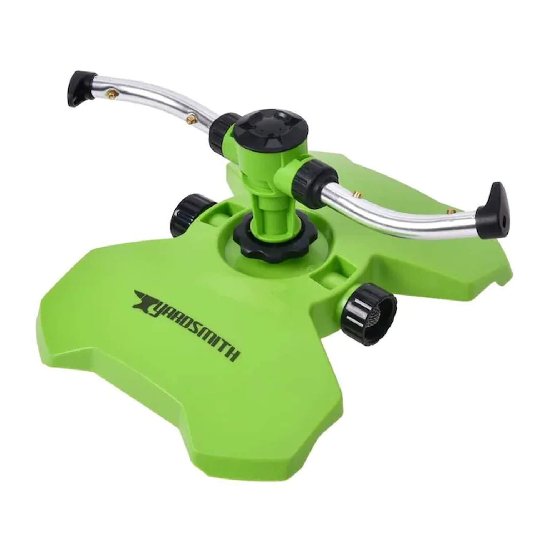 2021 Branded goods model Yardsmith 1480-sq ft Rotating Sprinkler Sled Lawn