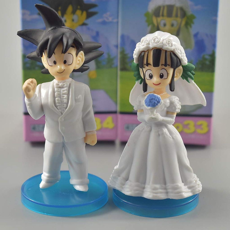 Más asequible LYLLYL Figurita De Juguete Modelo De Juguete Modelo De Anime Anime Anime Regalo Adorno Traje De Boda Modelo de Juguete  alto descuento