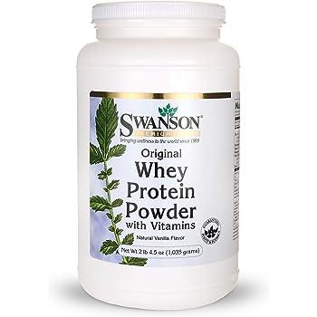 Whey Protein Powder 36.5 oz vanilla flavor (1,035 grams)