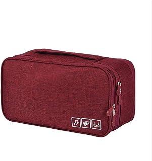 QXPDD Portable Voyage Soutien-Gorge sous-vêtements Organisateur tiroir diviseurs Placard organisateurs Sac de Rangement Co...
