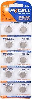 AG8 LR55 SR1120 191 391 1.5V Alkaline Button Cell Battery 10PC