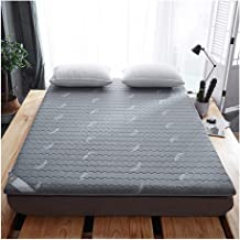 Latex Tatami Mattress Pad Mattress Topper, Breathable Soft Futon Mattresses Foldable Floor Mat for Home Camping Yoga Bed M...