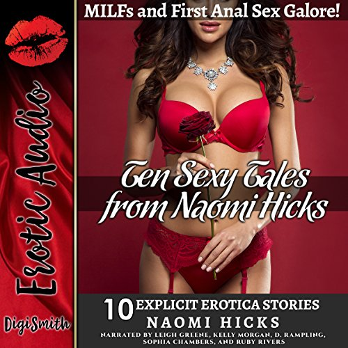 Ten Sexy Tales from Naomi Hicks audiobook cover art