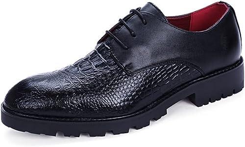 SJ-COOL Offre Offre Offre spéciale Chaussures à Lacets en Cuir de polyuréthane Oxford pour Hommes ce5