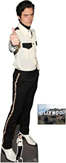 Cole Sprouse Lifesize Cardboard Cutout/Standup/Standee Fan Pack,184cm x 44cm Includes Free Mini Cutout and 8x10 Photo