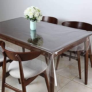 PVC Nappe De Table Protection Toile Cirée au Mètre Table Film Protection Transparent