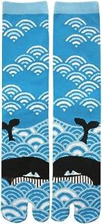 Japanese Tabi Socks Design Whale