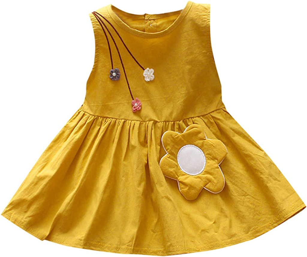Baby Toddle Girls Dress Outfits for Ranking TOP6 overseas 3-24Monhts Fashion Flo Cute