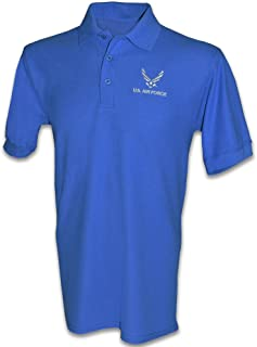 Honor Country US Air Force USAF Polo Golf Shirt