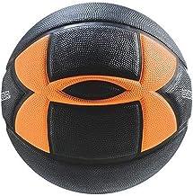 Under Armour 295 Spongetech Basketball, Black/Orange, Official/Size 7
