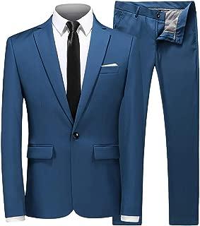 Best mens prom suits blue Reviews