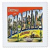 3dRose QS 160716_ 3Grüße aus Phoenix Arizona mit