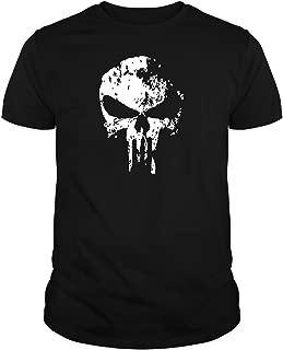 The Fan Tee Camiseta de Hombre Punisher El Castigador Comic Calavera