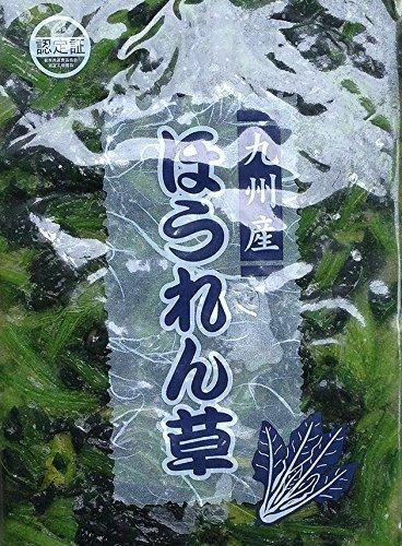 【冷凍野菜】【国産】九州産ほうれん草1kg(5センチカット)×2個