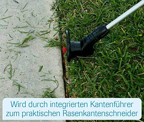 MediaShop Hammersmith Bionic Trimmer – innovative Motorsense ohne Faden, funktioniert mit Kabelbindern – leichter Rasentrimmer mit Akku – Rasenkantenschneider mit Führung - 7