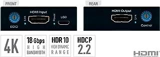 4K/18G HDMI Fixer, Booster, Buffer of EDID, HDCP, Hot Plug, 18G to 10G Compress/Decompress by Kedigital KD-FIX418