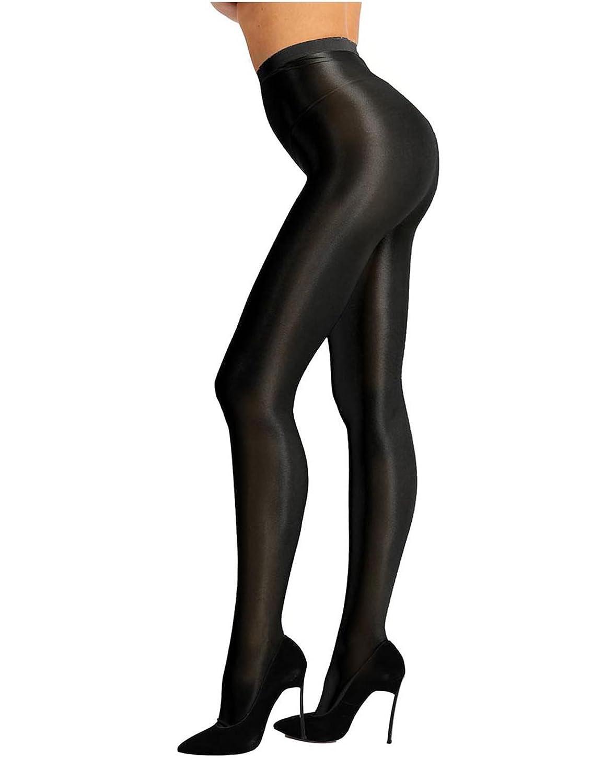 (フィーショー) FEESHOW レディース ストッキング パンスト 厚手 パンティーストッキング タイツ 光沢 なめらか 美脚 美尻 セクシーパンツ