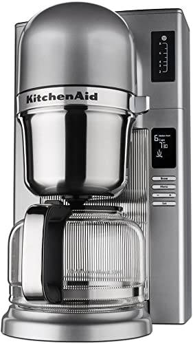 popular KitchenAid new arrival RKCM0802MS (Renewed) Pour discount Over Coffee Brewer, Medallion Silver outlet sale