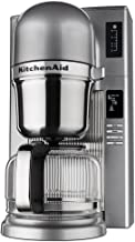 KitchenAid RKCM0802MS (Renewed) Pour Over Coffee Brewer, Medallion Silver