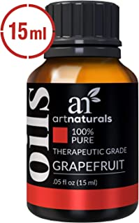 ArtNaturals 100% Pure Grapefruit Essential Oil - (.5 Fl Oz / 15ml) - Undiluted Therapeutic Grade - Uplift and Energize - W...