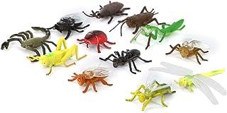Insectos Animales 12pcs Juguete Modelo Ninos Pvc De Plastico