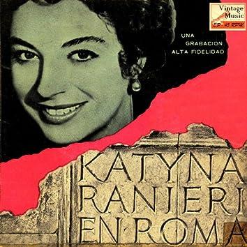 "Vintage Italian Song Nº 26 - EPs Collectors, ""Katyna Ranieri En Roma"""