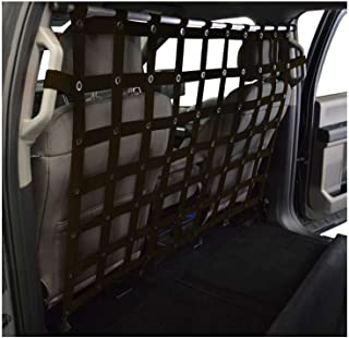 Dirtydog 4x4 Pet Divider fits Ford Crew Cab Pickup - Black
