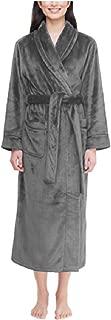 Carole Hochman Womens Plush Soft Polyester Fleece Wrap Robe (X-Large, Minnk)