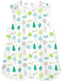 VANANSA Baby Sleeping Bag 100% Cotton Wearable Blanket Split Leg Vest Toddler Sleepsack, Sack for Toddler
