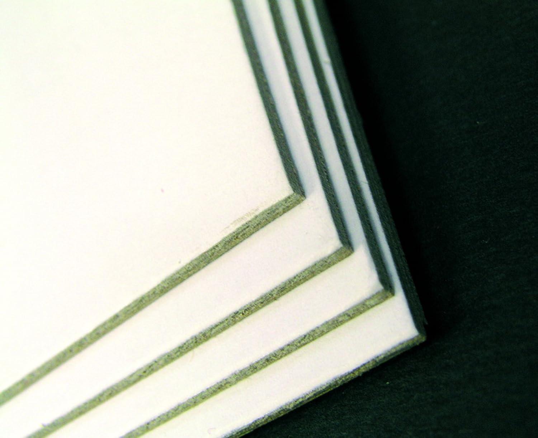 Clairefontaine 93991C Packung (mit 10 Passepartouts, mittelfein, 1200 g, 50 x 65 cm, 1,8 mm, preiswert, leicht, ideal für Bilderrahmung und Kartonagen) 10er Pack grau weiß B004A04KGG   | Erste Klasse in seiner Klasse