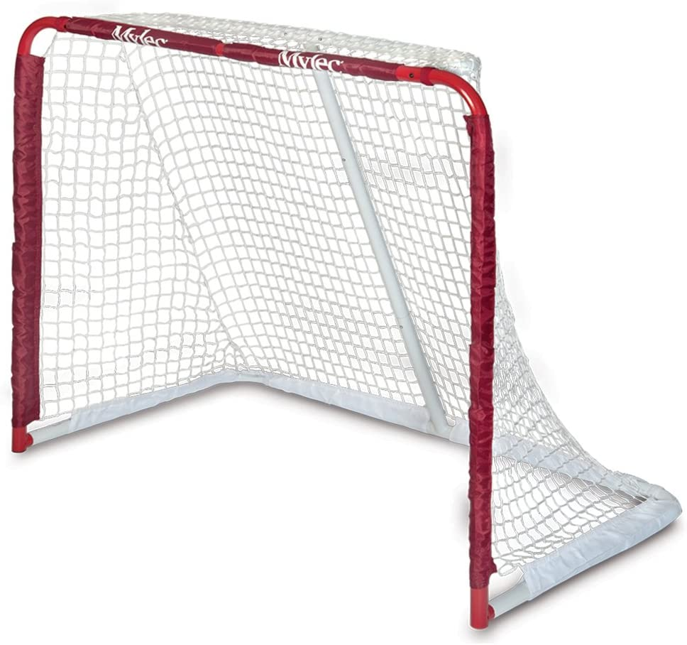 "Mylec All Purpose Steel Goal, Red, 52""X43""X28""."