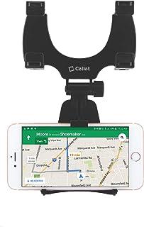 حامل هاتف مرآة الرؤية الخلفية للسيارة من سيليت متوافق مع سامسونج نوت 10 9 8 جالكسي S10 S9 S8 A6/J7/J3 ابل ايفون 11 برو ماك...