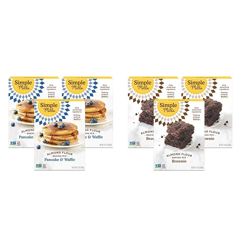 Simple Mills Almond Flour Pancake Mix Seattle Mall Waffle Gluten Free Limited time trial price